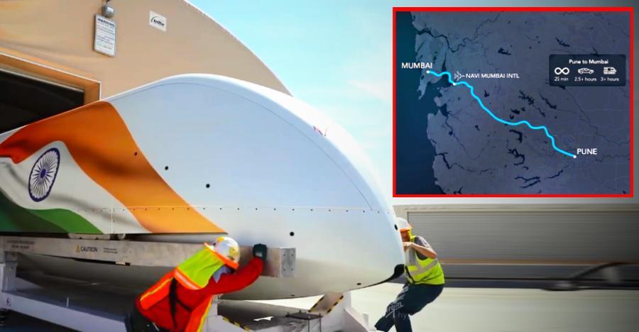 भारत में Mumbai-Pune रूट के लिए प्लैन्ड Elon Musk के Hyperloop को चलते हुए देखिए [वीडियो]