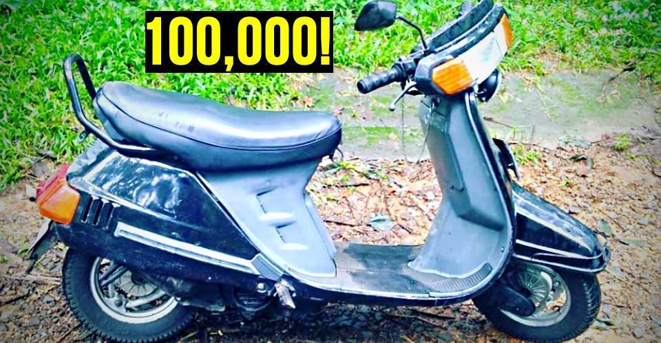 आप विशवास नहीं करेंगे इस Kinetic Honda ने 1 लाख किलोमीटर का सफ़र तय किया है!