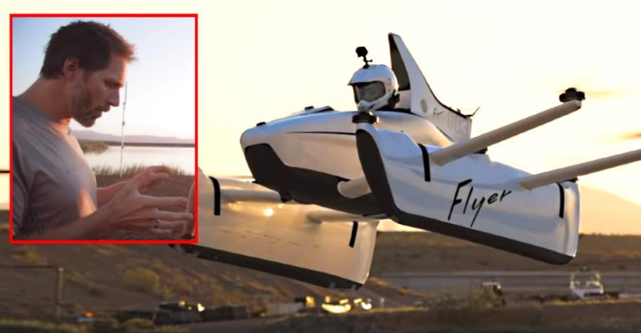 Google के Larry Page की फ्लाइंग कार आपके साथ आपके दिमाग को भी हवा में ले जायेगी!