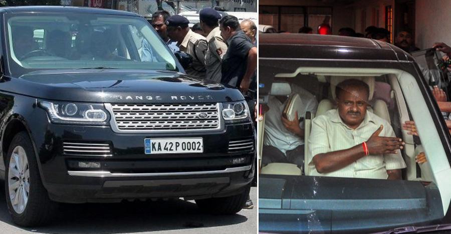 Karnataka के मुख्यमंत्री इस्तेमाल करेंगे 2 करोड़ रूपए की Range Rover Vogue