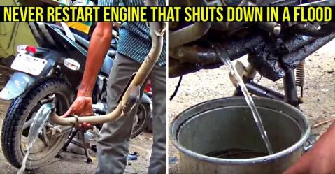 ये मैकेनिक आपकी पानी में डूबी हुई बाइक को बस 620 रूपए में बना सकता है…