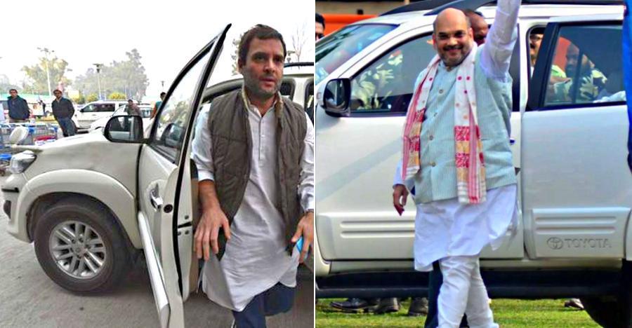 Amit Shah से Rahul Gandhi तक; इन नेताओं को Toyota Fortuner पसंद है