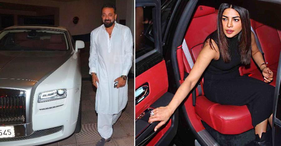 Sanjay Dutt से लेकर Priyanka Chopra तक; इन सेलेब्रिटीज़ के पास है Rolls Royce कार