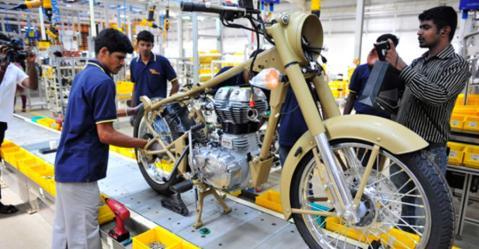 जल्द ही आप Royal Enfield मोटरसाइकिल्स को बनते हुए देख पायेंगे!