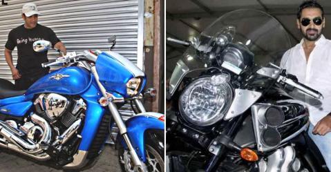 John Abraham की Yamaha V-Max से Dhoni की Ninja तक; इंडिया के सेलेब्रिटीज़ जिनके पास दैत्याकार मॉन्स्टर बाइक्स हैं!
