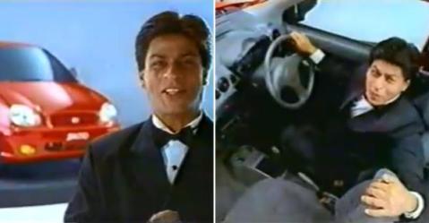 Shahrukh Khan का Hyundai Santro विज्ञापन आपको गुज़रे ज़माने में ले जाएगा!