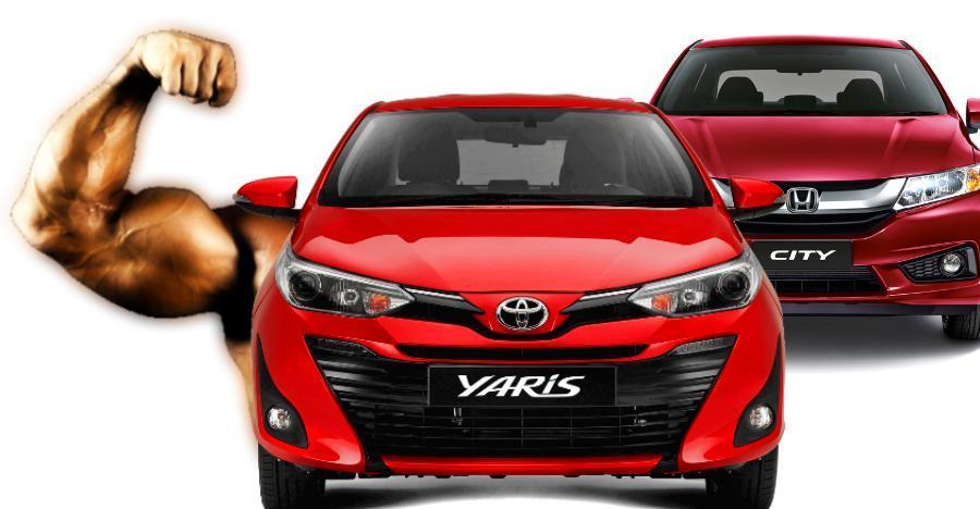 आखिर क्या कारण थे की सेल्स में Toyota Yaris निकल गयी Honda City से आगे?