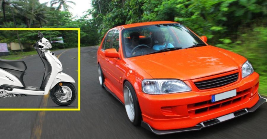 Honda City से Mitsubishi Lancer तक: 10 सेकंड हैण्ड कार्स जो Activa से सस्ती हैं!