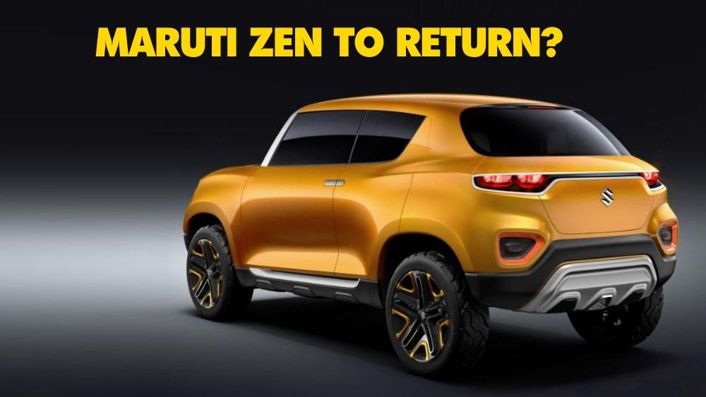 Future S कांसेप्ट के साथ हो सकती है Maruti Zen की 'घर वापसी'!