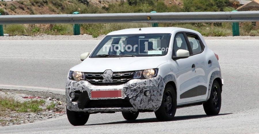 Renault Kwid Facelift को लॉन्च से पहले यूरोप में स्पाई किया गया!