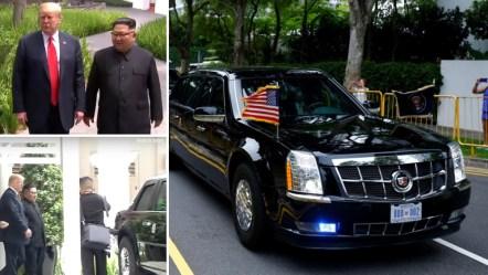 """क्या हुआ जब Donald Trump ने Kim Jong-Un को अपनी Cadillac One """"Beast"""" दिखाई!"""