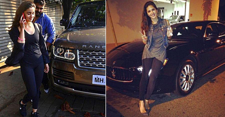 Alia Bhatt की Range Rover से Sunny Leone की Maserati; बॉलीवुड अदाकाराओं की 11 सबसे महंगी गाड़ियाँ