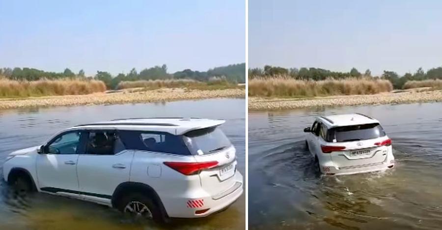 Toyota Fortuner किसी भी तरह की सतह पर चलाई जा सकती है: ये 5 वीडियो इस बात को साबित करते हैं