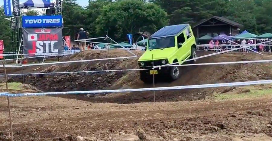 Maruti Gypsy रिप्लेसमेंट Suzuki Jimny कर रही है ऑफ-रोडिंग [वीडियो]