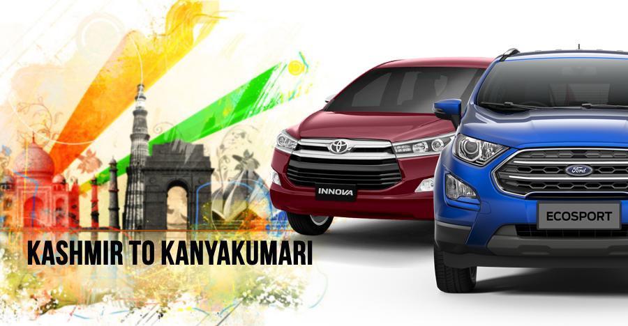 Tata Tiago से Ford EcoSport तक: Kashmir से Kanyakumari पहुँचने के लिए 12 बेहतरीन कार्स