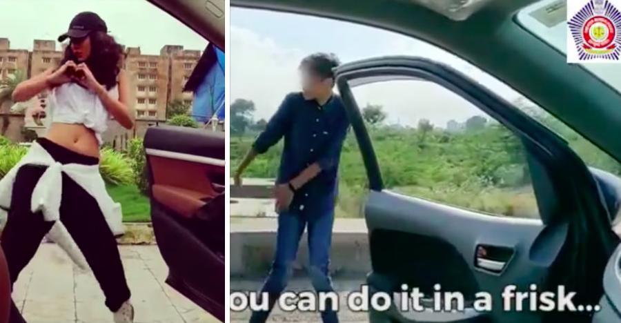 Mumbai Police ने चलती हुई कार के बाहर 'KIKI challenge' ना लेने की सख्त चेतावनी दी [वीडियो]
