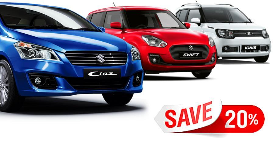 Ciaz से नई Swift तक: Maruti कार्स पर 1.2 लाख तक की भारी छूट