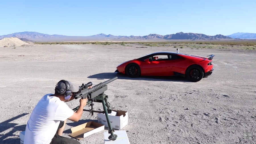 3.5 करोड़ की Lamborghini पर इस ओनर ने दाग दी हथगोले जितनी बड़ी गोली!