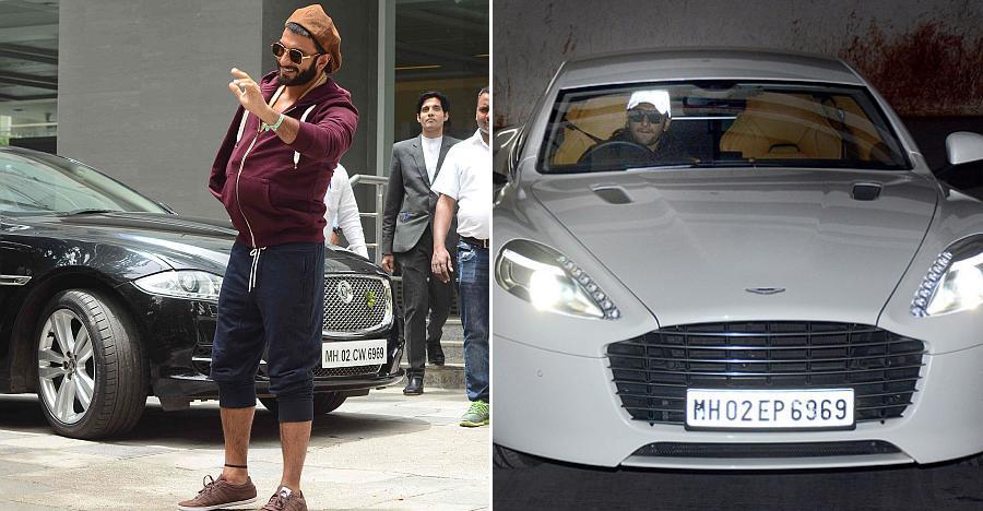 आज Ranveer Singh का जन्मदिन है, आइये डालते हैं उनके लक्ज़री कार्स पर एक नज़र!