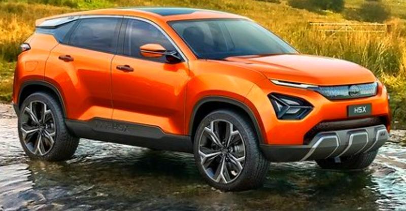 Tata Motors की H5X SUV को हिमालय में टेस्टिंग करते हुए देखा गया!
