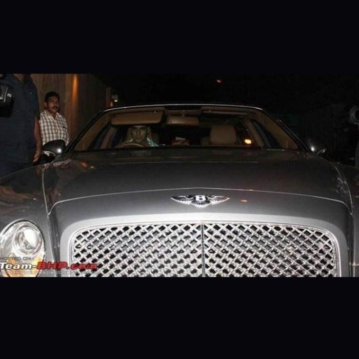 2018 Bentley Flying Spur Camshaft: Amitabh's Rolls Royce To Aamir's Bentley; Expensive Wheels