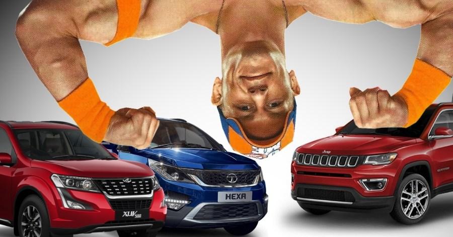 Mahindra XUV500, Jeep Compass और Tata Hexa — आपको कौन सी SUV खरीदनी चाहिए?