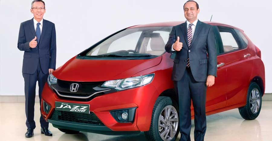 देखिये नयी Honda Jazz फेसलिफ्ट के इंडियन वर्शन का वॉक-अराउंड विडियो