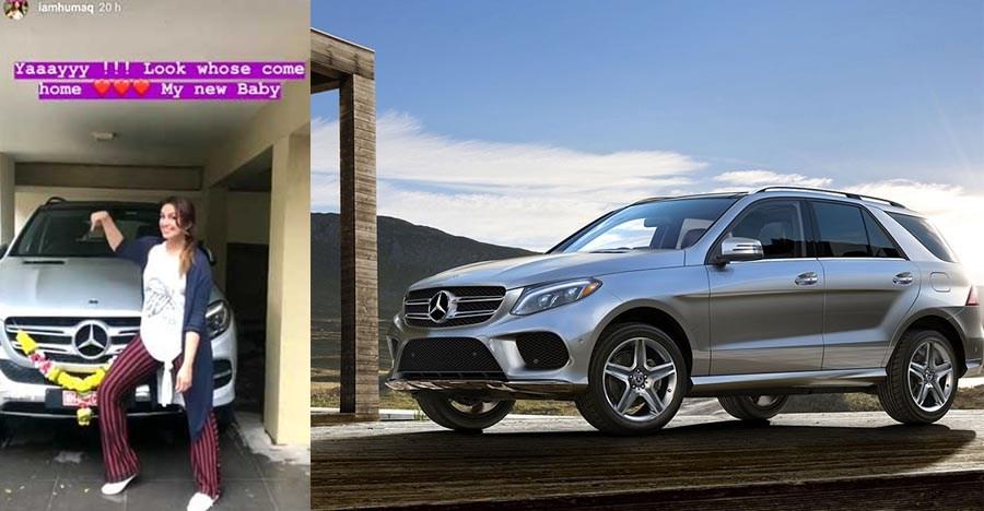 Gangs of Wasseypur स्टार Huma Qureshi ने खरीदी एक नयी Mercedes-Benz GLE SUV