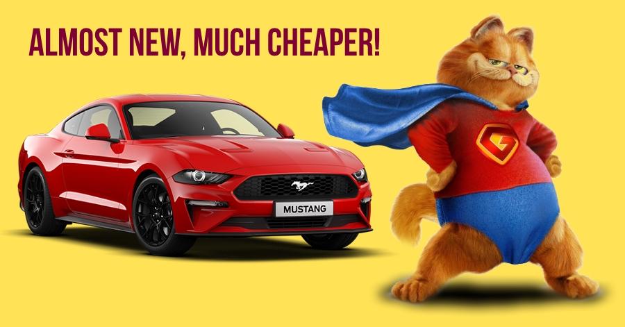 लगभग नई Ford Mustang, 10-15 लाख रूपए कम कीमत पर खरीदें!