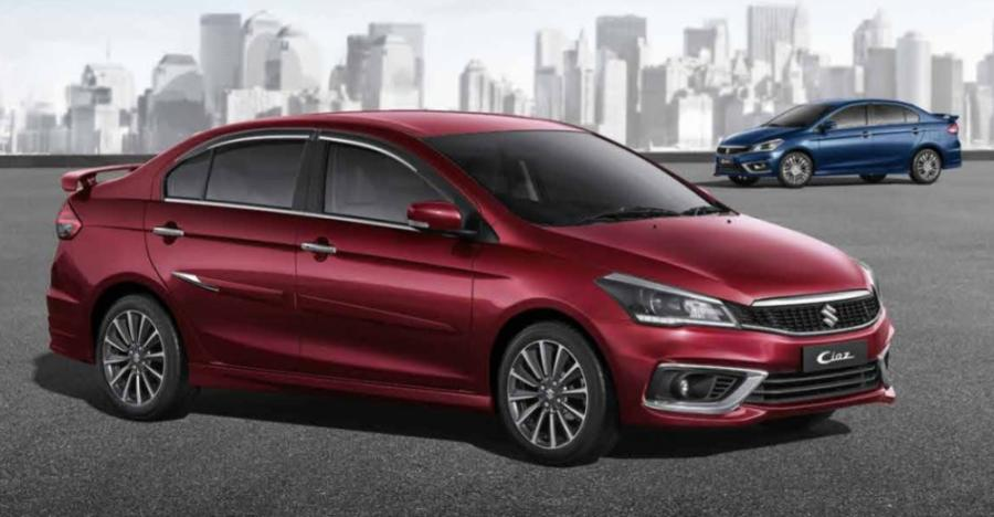 2018 Maruti Ciaz Facelift Featured