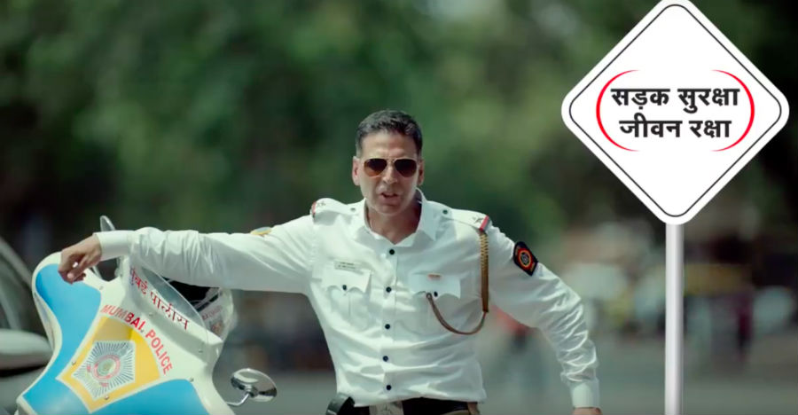 Akshay Kumar Traffic Police