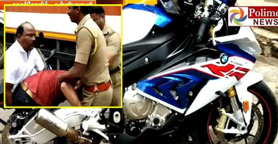 BMW S1000RR राइडर की पुलिस द्वारा गिरफ्तारी दर्शाती है तमीज़ खरीदी नहीं जा सकती!