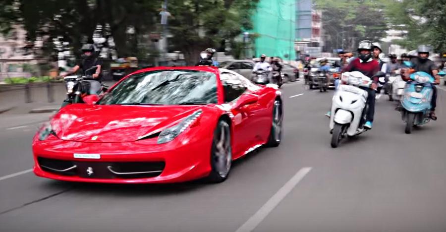 कुछ ऐसा होगा आपके साथ अगर आप हैं भारत की सबसे ज्यादा ध्यान आकर्षित वाली Ferrari के मालिक [विडियो]