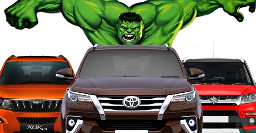 Highest Selling India Suvs Featured