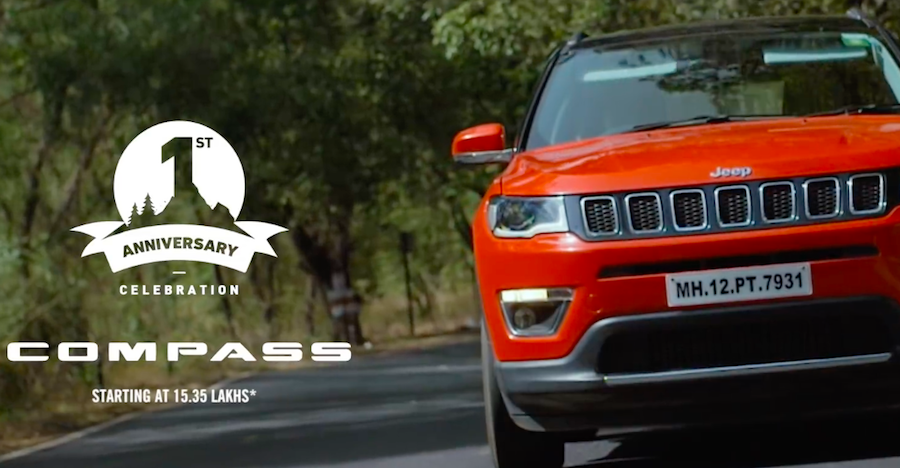 Jeep Compass Anniversary Offer