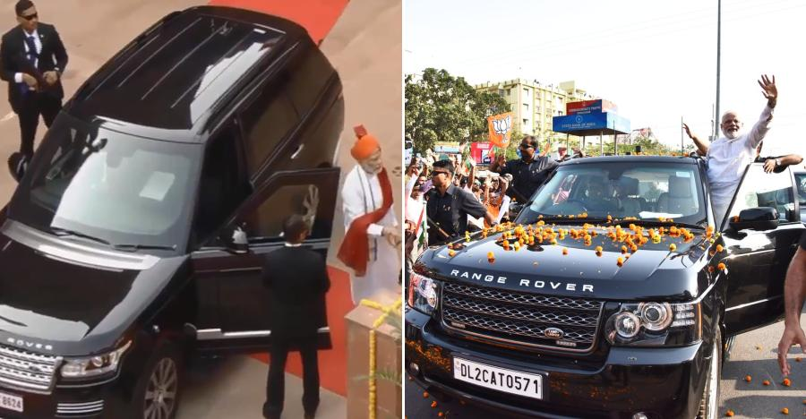 Image result for मोदी को Range Rover Sport