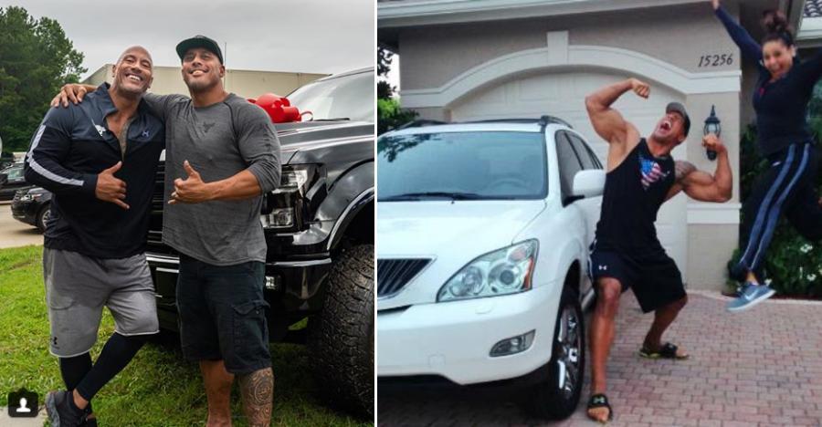 Dwayne 'The Rock' Johnson को अपने रिश्तेदारों को महंगी कार्स गिफ्ट करना पसंद है