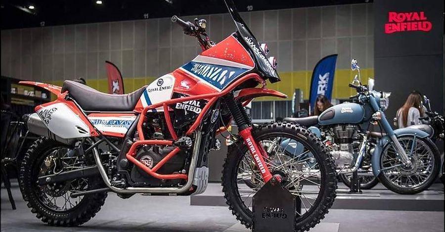 Royal Enfield Himalayan Dakar कस्टम मोटरसाइकिल बनी है ख़ास खतरनाक रास्तों के लिए