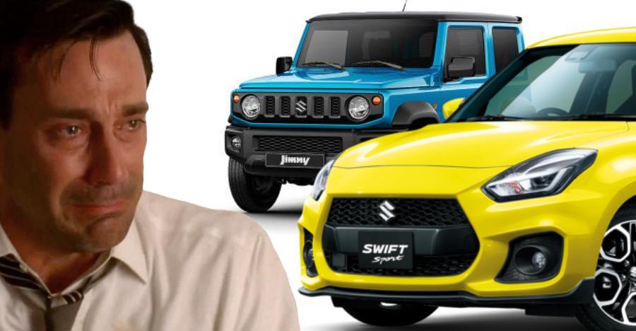 Swift Sport Jimny India Featured