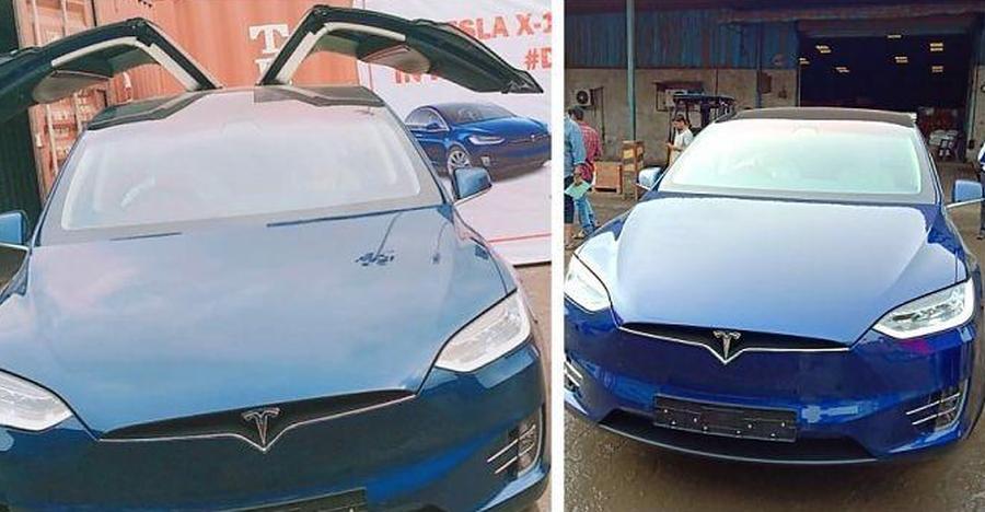 Tesla Model X 100d India Feaured