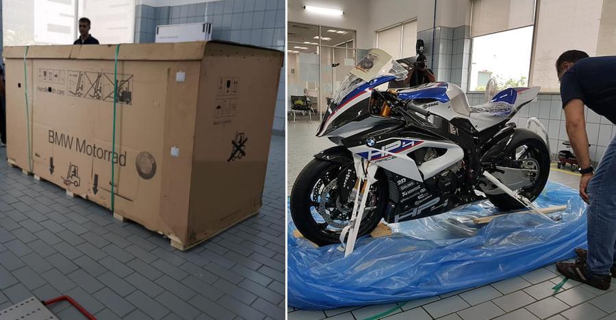 इस इंडियन ने खरीदी है 85 लाख रूपए की BMW रेसिंग बाइक!