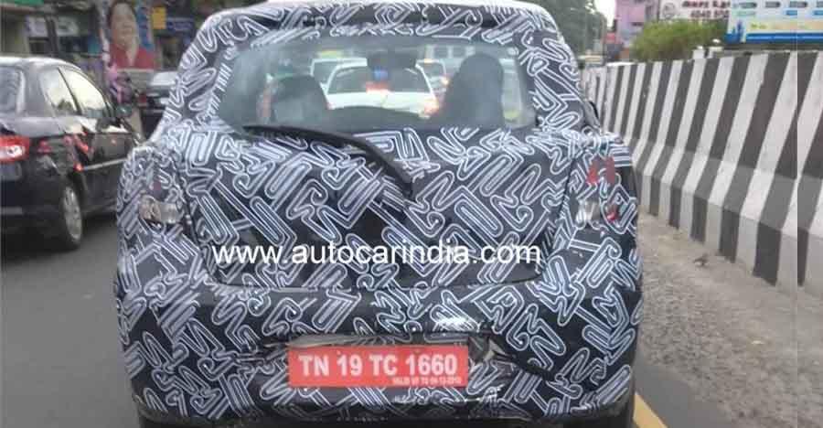 भारत में Datsun Go फेसलिफ्ट की ख़ुफ़िया तस्वीरें और लॉन्च डिटेल्स