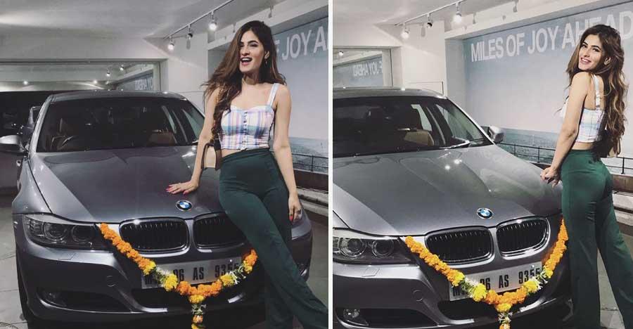 Super 30 और Pyaar Ka Punchnama स्टार Karishma Sharma ने ख़रीदी BMW 3-Series सेडान!