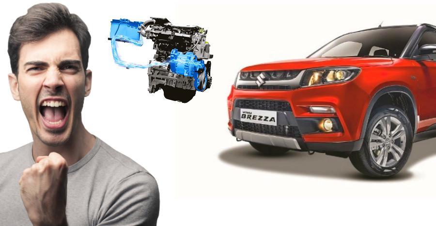 Maruti Vitara Brezza Petrol Hybrid Featured