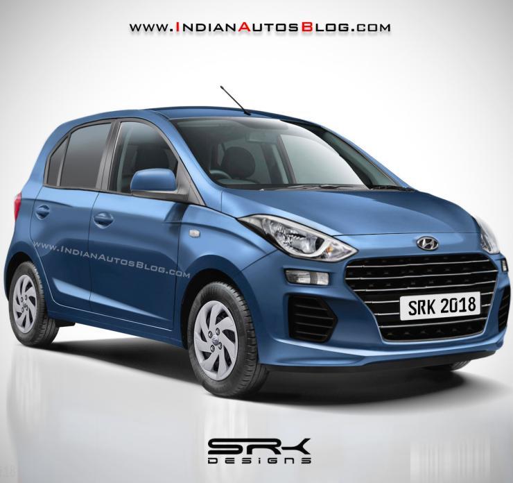 2018 Hyundai Santro Brand New Render