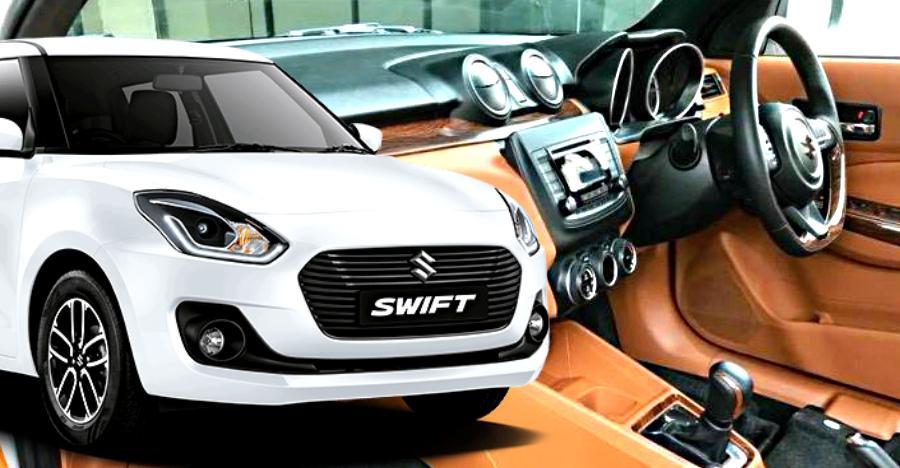 2018 Maruti Swift Leather Interiors Modified Featured