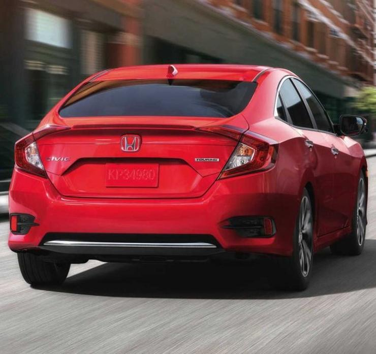2019 Honda Civic Facelift Rear