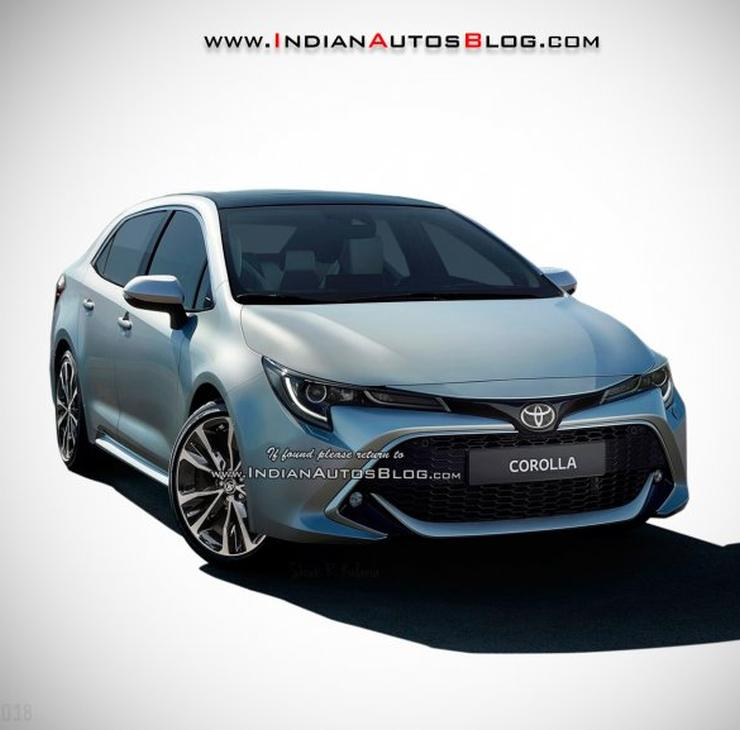 2019 Toyota Corolla Altis Render New