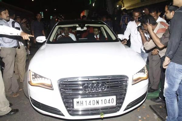 Abhishek Bachchan Audi A8 L