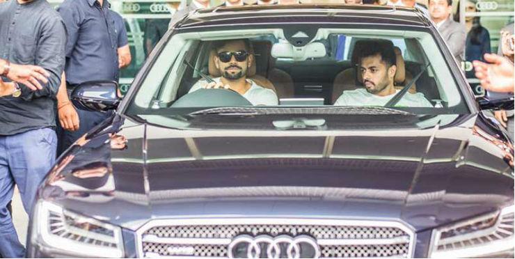 Audi A7 Virat Kohli